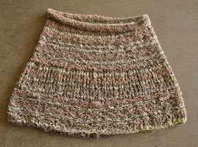 Inca Knitting Patterns : Easy Cowl-Capelet - Inca Clouds - Crystal Palace Yarns
