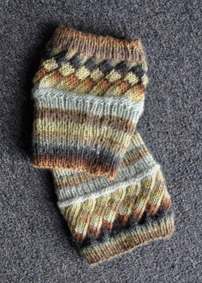 Big Needle Knitting Patterns Free : Estonian Rib Boot Toppers - Mochi Plus - Crystal Palace Yarns