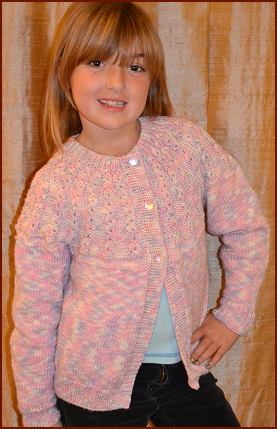 Free Knitting Patterns For Girl Sweaters : Merino 5 18