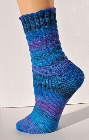 Knit Sock Patterns Free Beginners : Free Sock Knitting Pattern For Beginners Freshstitches # 2016 Car Release Date