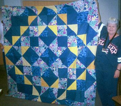 Quilters Corner: Mystery Quilt Pattern - 2009 New Year's Day