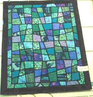 STAINED GLASS GARDEN QUILT PATTERN FREE Quilt Pattern