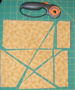 Stack and Slash Star quilt blocks - fast and easy way to make stars : stack and slash quilt - Adamdwight.com